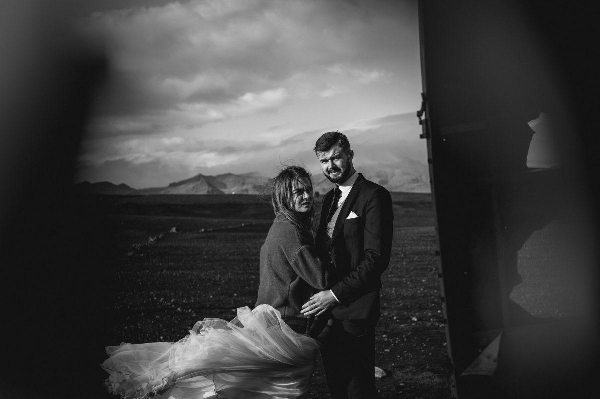 sesja poslubna na islandii